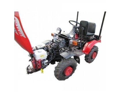 Мини-трактор МТЗ - 152 с ковшом