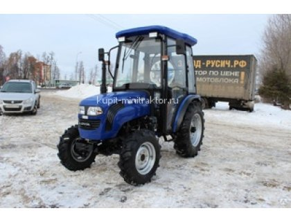 Трактор Foton Lovol TE-404 с кабиной и с реверсом