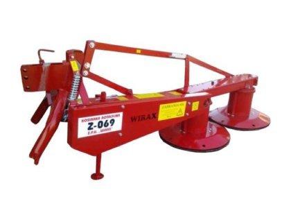 Косилка роторная WIRAX Z-069/1 ширина захвата 1,35м МИНИ