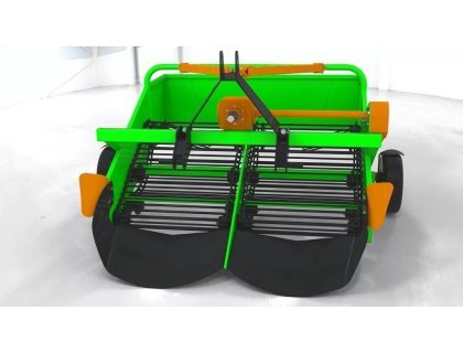 Картофелекопалка двухрядная транспортерная DK-2T